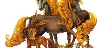 Чудо-кони в сказке Ершова «Конек горбунок»